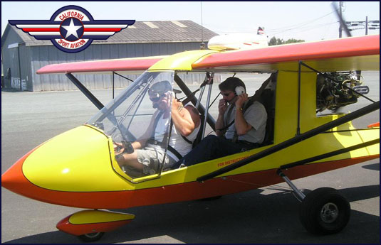 California Sport Aviation | Ultralights Sacramento